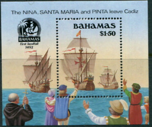 Bahamas - 1990 - Sc 692 - 500Th Anniversary of the Discovery of America MNH