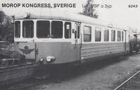 Ak Unread Morop Congress Sweden Litt. Ubf o 3YP Baden Model Järnvägs (G2565)