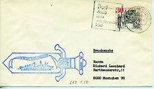 Schiffpost Bundesmarine aus den 60/70er Jahren - Saarburg
