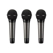 Audio-Technica ATM510PK Vocal Mic Pack - 3 Cardioid Dynamic Handheld Microphones