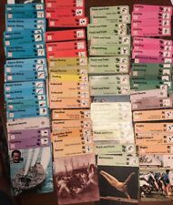 70+ Diff. 1977-1979 Sportscaster Cards Rencontre Edition Lot EX-NM Soccer Rugby