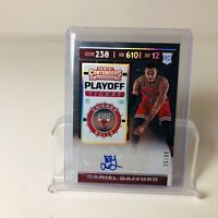 2019-20 Panini Daniel Gafford Contenders Playoff Ticket Parallel /99 Auto RC