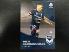 2017/18 TAP'N'PLAY A-LEAGUE CARD NO.107 KOSTA BARBAROUSES MELBOURNE VICTORY