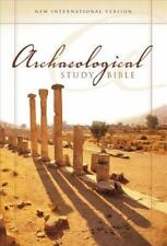 NIV Archaeological Study Bible: An Illustrated Walk Through Biblical History an
