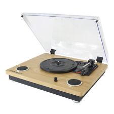Madison Vintage Turntable Vinyl Record Player Bluetooth Bulit In Speakers HiFi