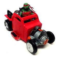 Teenage Mutant Ninja Turtles toys HOT ROD CAR vehicle + figure, no box
