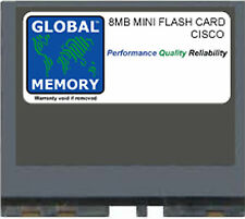 8MB MINI FLASH CARD MEMORY RAM FOR CISCO 800 SERIES ROUTERS ( MEM800-8F )