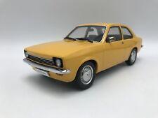 Opel Kadett C Saloon 1973-1977 - gelb - 1:18 KK-Scale   >>NEW<<