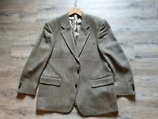 GEORGIO Herren 2-Knopf Blazer Sacko Gr.25 Hahnentritt Tweed Farb.75%Wolle+Futter