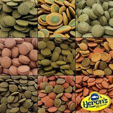 HERONS PREMIUM BOTTOM FEEDERS FOOD Algae Wafers, Multi Wafers, Wafer Mix etc.