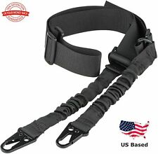 Tactical Two Point Rifle Sling Gun Sling Shoulder Strap with Metal Hook