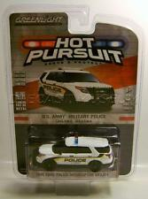 2015 '15 FORD EXPLORER U.S. ARMY MILITARY POLICE GREENLIGHT HOT PURSUIT DIECAST
