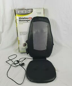 Homedics Shiatsu Massager Seat With Heat Remote Control Boxed RRP £160