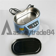 Digital Ultrasonic Cleaner Double vibration NT-285 Jewelry Mobile Spectacles NEW