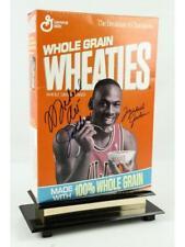 Michael Jordan Signed Wheaties Box Lot 438