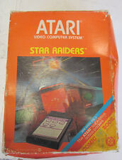 Atari Complete Star Raiders Game with Joy Stick 2 Touch Pads Instructions