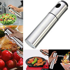 Stainless Steel Olive Spray Bottle for Kitchen Outdoor BBQ Oil Soy Sauce Vinegar