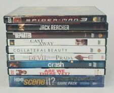 Lot Of 9 DVDs 2 NEW Will Smith Collateral Beauty, Scene it HBO, Tom Hanks + MORE