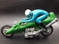 VINTAGE 1971 RRRUMBLERS HOT WHEELS ERA MOTORCYCLE TOY STRAIGHT AWAY BLUE RIDER