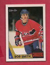 (1) CANADIENS # 48 BOB SMITH  1987-88 O-PEE-CHEE   NRMT CARD