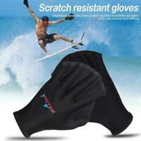 Unisex Swimming Surfing Webbed Gloves Neoprene Training Fins Paddle CL F3I7