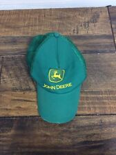 John Deer Hat - Green, Yellow John Deer - Cotton Front And Mesh Back