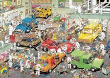 NEW! Jumbo In the Car Respraying Shop Jan van Haasteren 500 piece comic jigsaw