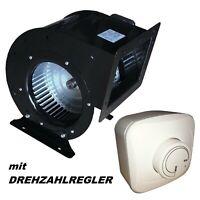 Radiallüfter  + Drehzahlregler Gehäuselüfter Lüfter/Gebläse/Ventilator/Abluft#