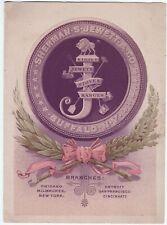 RARE Advertising Trade Card Brochure - Jewett Steel Range Stoves 1880 Buffalo NY