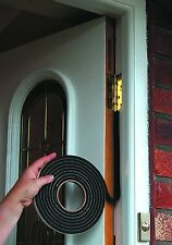 STORMGUARD 3050mm Rubber Foam Jumbo Draught Excluder Weather Strip BLACK