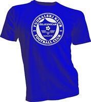 FK Zeljeznicar Sarajevo Bosnia UEFA Football Soccer T-shirt jersey handmade