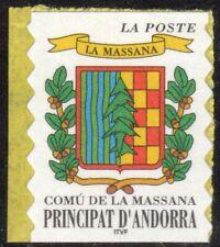 Andorra, French Administration Scott #504 VF MNH 1999 Arms of La Massana Single