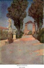 Maxfield Parrish Venetia & Genoese Villas EDITH WHARTON Villa Scassi 1904 PART 6