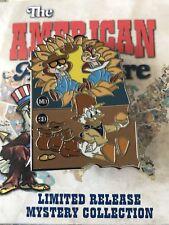 Disney American Adventure States Mystery Pin ND SD Dakota Chip Dale Scrooge LR