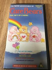 RARE Vintage 1987 VHS CARE BEARS 5 Story TEMPO VIDEO Tape EXCELLENT CONDITION