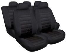 Sitzbezüge Sitzbezug Schonbezüge für VW Polo Schwarz Modern MG-1 Komplettset