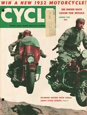 1952 March Cycle - Vintage Motorcycle Magazine