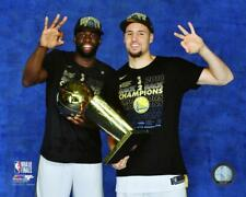 Draymond Green & Klay Thompson 2018 NBA CHAMPIONSHIP TROPHY 8X10 PHOTO