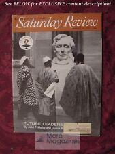 Saturday Review August 18 1962 AFRICA GEORGE N. FENIN JOSEPH L. MANKIEWICZ