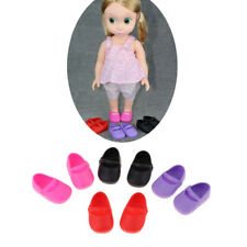 4 Pairs Single Shoes Flats for 16inch Sharon Doll Clothing Accessory