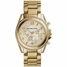 NEW   Michael Kors Ladies Blair Gold Chronograph Watch MK5166   RRP £269