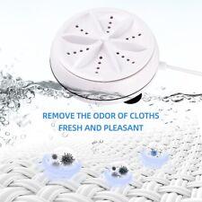 New Portable Mini USB Ultrasonic Turbine Washing Machine Spin Laundry Washer