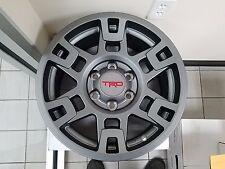 """OEM Toyota 4Runner/FJCruiser/Tacoma TRD Pro 17"""" GRAY Wheel Set PTR20-35110-GR"""
