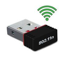 CLÉ USB DONGLE MINI ADAPTATEUR WIFI 802.11 B / G / N Pour windows XP 7/8 VISTA