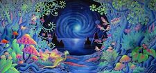 Psychedelic Trippy Art Silk Poster Print Home Wall Stickers Decor 24x43inch  P01
