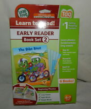 Leap Frog Read to Learn Early Reader Book Set 2 Tag Ages 4-7  6 Books NEW