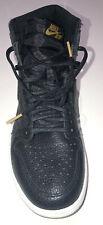nike air jordan 1 retro high og Black/metalic Gold Size Uk 8.5