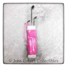 BARBIE LOOK PINK ON THE GREEN GOLF BAG CLUBS AND ACCESSORIES ONLY NEW