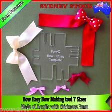 Bow Easy Template Maker 7 Different Sizes of Bows