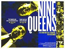 Nine Queens - Original UK Quad Poster 40 x 30 inches - Cult Gangster Movie
